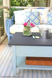 chalk paint coffee table blue painted coffee table blue chalk paint coffee table peekapp co