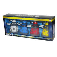 doctor who dalek ornaments set shop