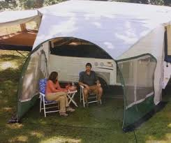 Dometic Awnings Dometic Cabana Lightweight Dome Awning 13 Foot 747grn13 000