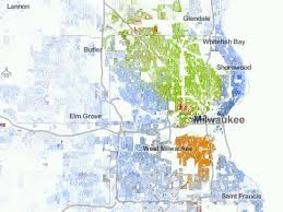 Chicago Race Map by Most Segregated Cities In America Business Insider