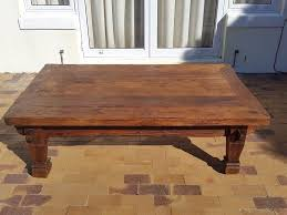 hand carved coffee table large solid teak hand carved coffee table 150 x 90 cm tokai