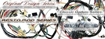 exact oem reproduction wiring harnesses and restomod wiring