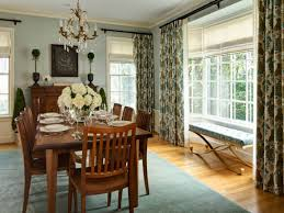 dining room elegant modern dining room window treatments with