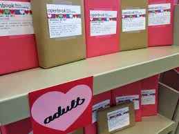 Seeking Blind Date Literary Hoots Library Display Blind Date With A Book