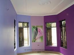 wall paint colour combination for bedroom interior wall painting