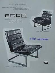 pub canapé publicite erton fauteuil d ac canape salon de 1962 ad
