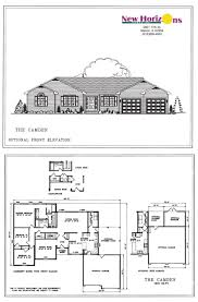 Large Ranch Home Floor Plans by Ranch Floor Plans Home Design Ideas House Elevation The C Hahnow