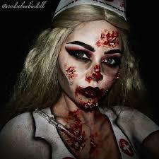 Halloween Werewolf Makeup Zombie Nurse Www Youtube Com C Sydneynicolethecatsmeow Ig