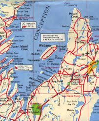 St Thomas Island Map Conception Bay South Communities