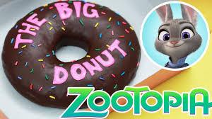 giant zootopia donut nerdy nummies u0027the big donut u0027 youtube