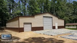 metal building auto garages steel building garages