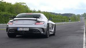 mercedes sl amg black series mercedes sls amg black series downshifts