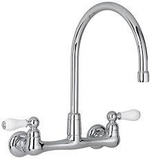 gooseneck kitchen faucet american standard 7293 252 002 heritage wall mount gooseneck