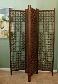 asian room dividers mid century teak wood screen asian room divider 4 panels vintage