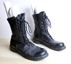 s boots in size 12 vintage corcoran us combat jump boots mens size 12 e made