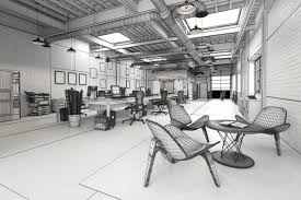 making of big loft office evermotion