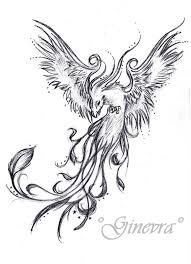tribal phoenix tattoo design page
