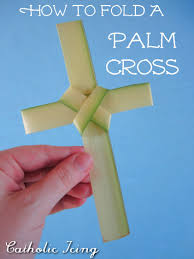 palm sunday crosses how to fold a palm cross in 10 easy steps