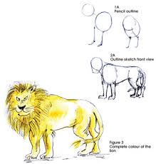 sundayobserver lk jounior observer painting lion