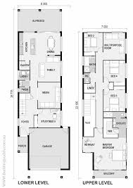 narrow lot cottage plans 19 best small lot house floorplans images on house