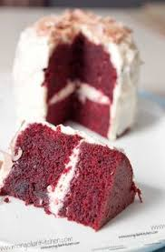 its the original red velvet cake none of that cream cheese