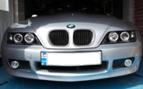 fitting sonar halo bmw z3 angel eyes headlight units bmw z1 z4