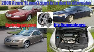mobile mechanic tips of the week 17 2006 acura tl alternator