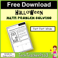 part part whole word problems worksheet teaching resources