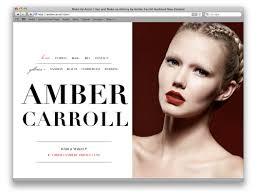 website for makeup artist duffy archive portfolio website design