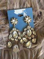 Ralph Lauren Chandelier Fashion Earrings Threader Crystal Chandelier Fashion Earrings Ebay