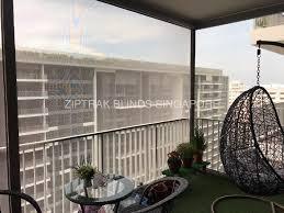 Track Guided Outdoor Blinds Window Blinds Singapore Ziptrak Blinds Singapore