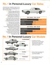 personal luxury wars 1968 ford thunderbird versus the com