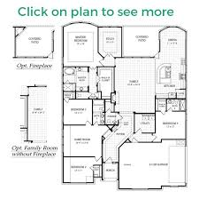 Floor Plans For One Story Homes Sierra Plan
