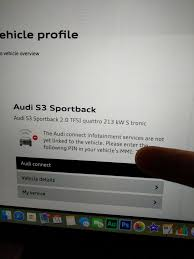 my audi connect login audi connect s3 8v page 3