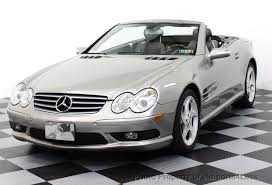 mercedes s550 2005 2005 used mercedes sl class sl500 sport package roadster at