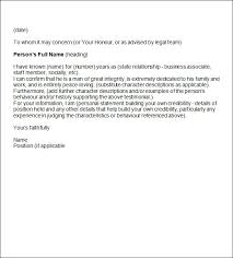 Sample Character Reference In Resume Sample Character Recommendation Letter For Student