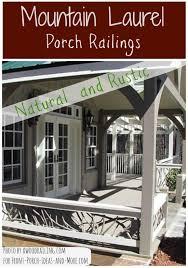 18 best rustic railings images on pinterest porch railings