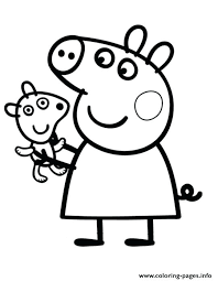 coloring pages peppa the pig peppa pig coloring pages pig coloring pictures print kids coloring