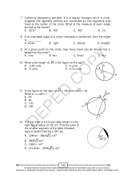 Segment Lengths In Circles Worksheet Answers Math 10 Unit 2 Lm
