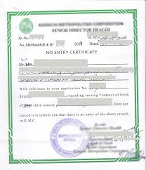 clearance certificate sample sample birth certificate pakistan nadra marriage certificate