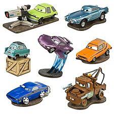 cars cake toppers disney cars 2 deluxe 7 figure play set tow mater cake topper bath