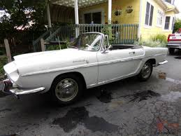 renault caravelle engine caravelle convertible hard top 1966 runs nice