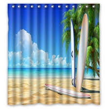 Surfer Shower Curtain Discount Beach Shower Curtain 2017 Shower Curtain Beach On Sale