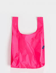 pink standard baggu baggu fashion bags reusable shopping