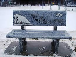 memorial benches u2013 a perfect tribute to your pet and garden decor