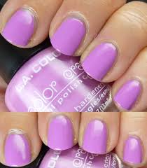 paillette a little nail polish journal swatchiness l a colors