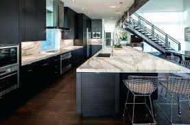 white kitchen cabinets with black stainless appliances pictures