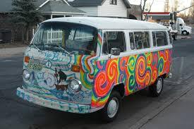 volkswagen van hippie blue vw bus superradnow