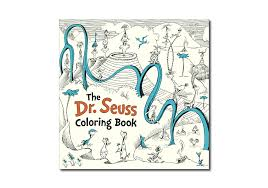 dr seuss coloring books the dr seuss coloring book