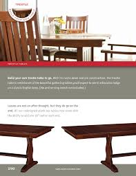 How To Build A Trestle Table Hoot Judkins Furniture San Francisco San Jose Bay Area Simply
